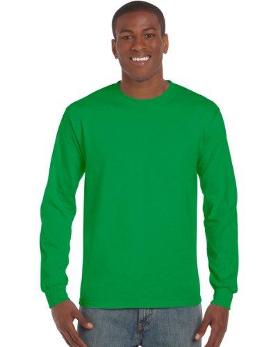Gildan Ultra T-Shirt mit Rundausschnitt für Männer (2XL) (Irisches Grün) XXL,Irisches Grün