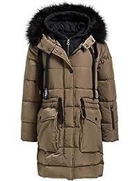 Khujo Abrigo de Invierno para Mujer atlana with Detachable Inner Jacket Abrigo Removible con Sudadera de