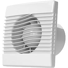 Calidad de la cocina de la pared baño ventilador extractor de 150 mm estándar ventilador prim