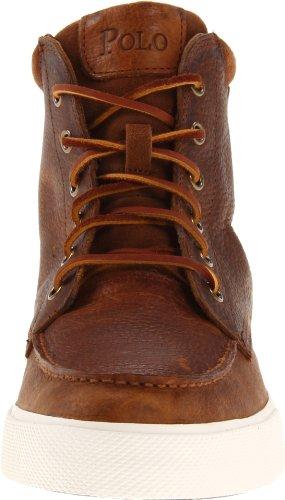 Polo Ralph Lauren Tedd haut-top Sneaker Tan/Snuff