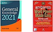 General Knowledge 2021+Word Power Made Easy(Set of 2 books)