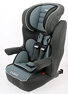 nania si ge auto rehausseur dossier avec harnais i max sp luxe isofix gris fonc de 9 36 kg. Black Bedroom Furniture Sets. Home Design Ideas