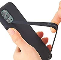 Sinjimoru Silicone Stretching Strap as Phone Grip Holder, Slim Grip Tape for iPhone Case, Secure Phone Strap as Cell...