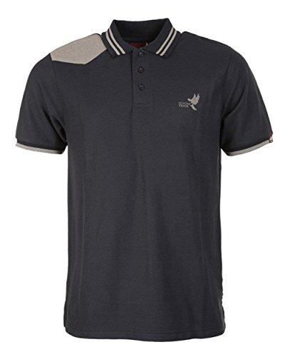 Missing Peace Lennon Polo Shirt RRP £ 14,99 Navy