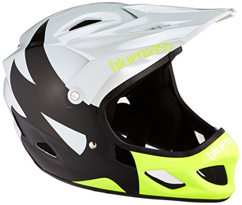 Bluegrass Explicit Helm White/Black/Fluo Yellow 54-56 cm