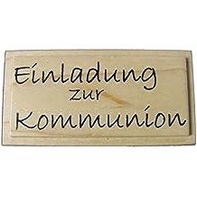 KnorrPrandell 1800140   Stempel   Einladung Zur Kommunion, 6.3 X 2.5 Cm
