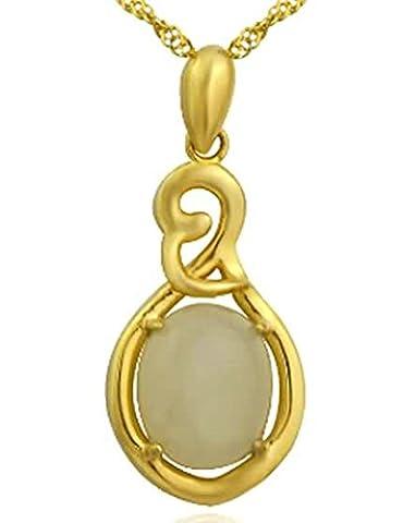 AMDXD Bijoux Argent Sterling Pendentif Colliers pour Femme Or Gte