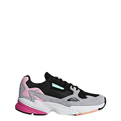 Adidas Falcon W, Zapatillas de Deporte para Mujer, Negro (Negbás/Grasua 000), 38 EU