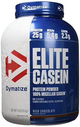 Dymatize Elite Casein Rich Chocolate, 1.818 kg