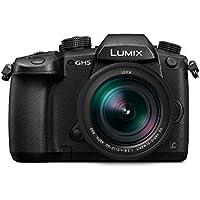 Panasonic DC-GH5LEB-K Lumix G Compact System Camera - Black (12 - 60 mm LEICA DG Lens, 20.3 MP)