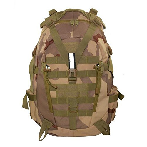 Zaino 35L Borsa tattica di camuffamento Sport Viaggio Escursioni Tempo libero Zainetto all'aperto , ArmyGreen desert camouflage