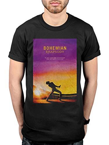 Official Queen Bohemian Rhapsody T-Shirt Rhapsody Tee