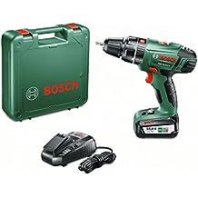 Bosch PSB 14,4 LI-2 - Atornillador/taladro de percusión con batería de litio (36 W, 14,4 V)
