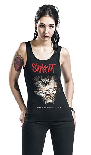 Slipknot Vol.3: The subliminal verses Top Femme noir Noir