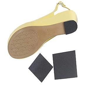 Tcare 1 Paar Anti-Rutsch-Schuh-Aufkleber, selbstklebende Anti-Rutsch-Kissen Sohlenschutz, für Damenschuhe, High Heels, Stiefel, Sandalen, Herrenschuhe