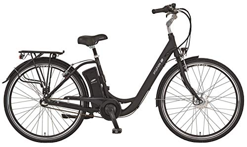 28 Zoll PROPHETE GENIESSER e.9.3 Damen City E Bike Elektro Fahrrad Pedelec Shimano 36V schwarz RH 49cm