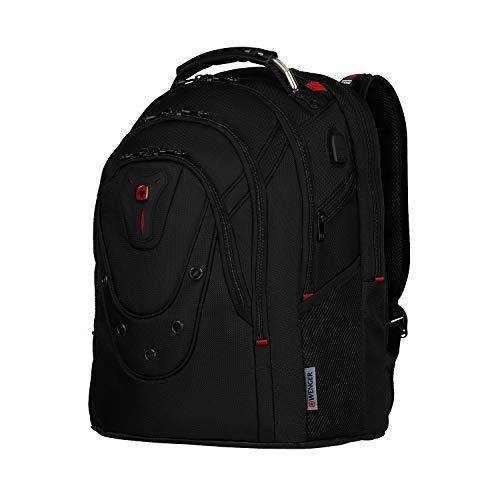 Wenger Ibex Ballistic Deluxe - Zaino per laptop da 14'-40,64 cm (16'), colore: Nero