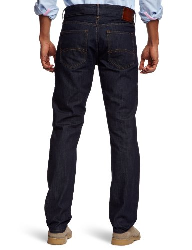Hilfiger Denim Herren Slim Jeans Scanton MRW Blau (Michigan Raw)