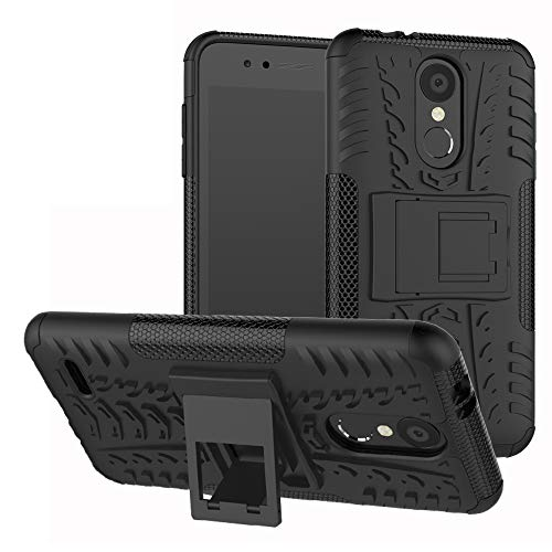 Labanema LG K8 / LG K9 2018 Hülle, Abdeckung Cover schutzhülle Tough Strong Rugged Shock Proof Heavy Duty Case Für LG K8 / LG K9 2018-Schwarz