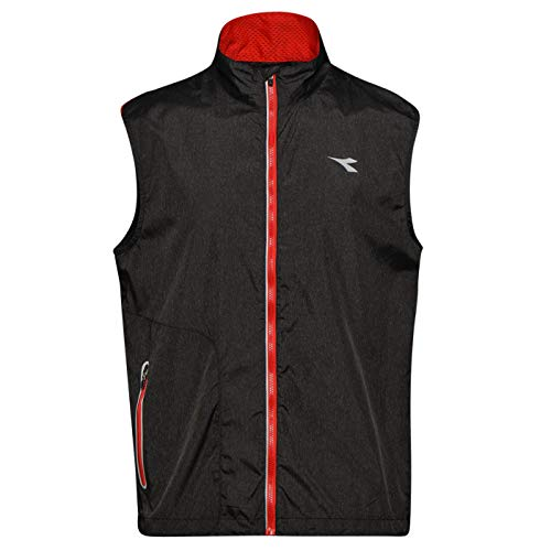 Diadora Sport 102173392 Running, Gilet Uomo, Nero, M