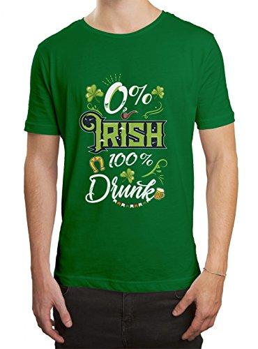 St. Patrick's Day #5 Premium T-Shirt Irland Pub Kleeblatt-Grün Herren Shirt, Farbe:Hellgrün (Kelly Green L190);Größe:XL