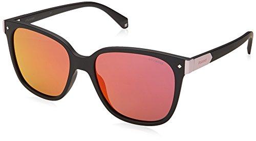 Polaroid Unisex-Erwachsene Sonnenbrille PLD 6036/S AI 003 53, Schwarz (Matt Black/Grey)