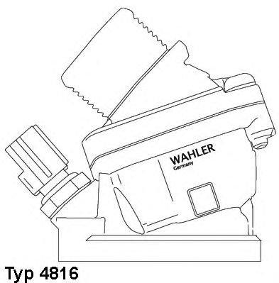 Preisvergleich Produktbild WA 4816.90D S60/80-V70 2.4D
