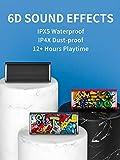 C- C- Tragbarer Bluetooth-Lautsprecher Drahtloses Lautsprecher-Soundsystem 10 W Stereo-Musik-Surround Wasserdichter Outdoor-Lautsprecher, 16 Stunden Spielzeit, Integriertes Mikrofon Für Freisprechanrufe