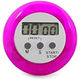 WMA Purple/pink Digital Electronic Magnetic Kitchen Timer