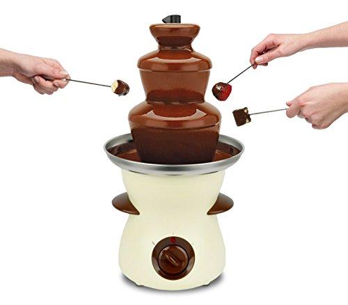 516885 Fontana di cioccolato DICTROLUX 80 watt 3 piani di cascata 500ml. MEDIA WAVE store ®