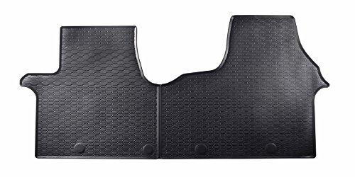 DAPA 1078398 Gummimatten Gummifußmatten Auto Fußmatten Gummi Hervorragende Premium Qualität Ideale Paßform als Ersatz für Ihre Originale Matten