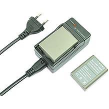 mondpalast@ 2X Reemplazo Li-ion batería BLN-1 BLN1 1220mAh + cargador para Olympus M4/3 OM-D E-M5 II OM-D E-M5 , EP-5 OM-D EM-1