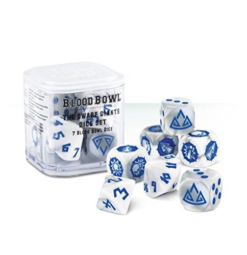 The Dwarf Giants Blood Bowl Dice