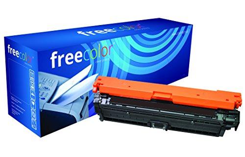 Preisvergleich Produktbild freecolor CE740A für HP Color LaserJet CP5225, Premium Tonerkartusche, wiederaufbereitet, 7.000 Seiten, 5 Prozent Deckung, BLACK