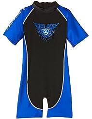 Zunblock Sunsuit Rock'n Sun Combinaison anti-UV Enfant Noir/bleu Taille 110/116