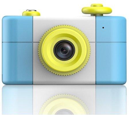 CamKing Appareil photo numérique pour enfants, nouveau Mini 1.5 'caméra pour enfants (bleu)