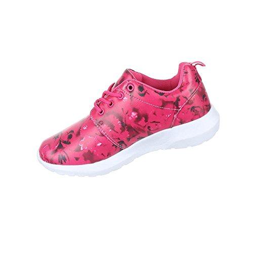 Damen Schuhe Freizeitschuhe Sneakers Turnschuhe Pink