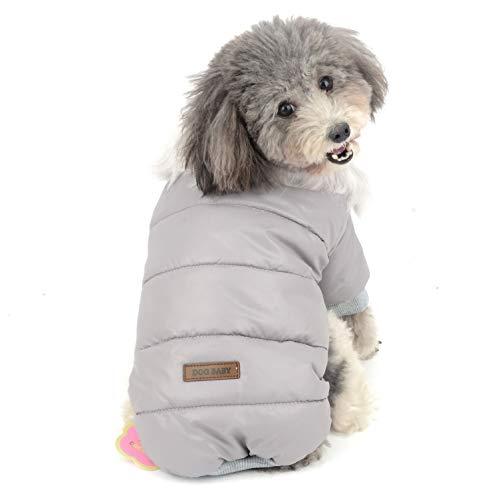 jacke mit Kunstfell für kleine Hunde, Fleece-gefüttert, für Mädchen und Jungen, für Chihuahua ()