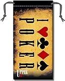 Custodia per occhiali Poker Double Jeu