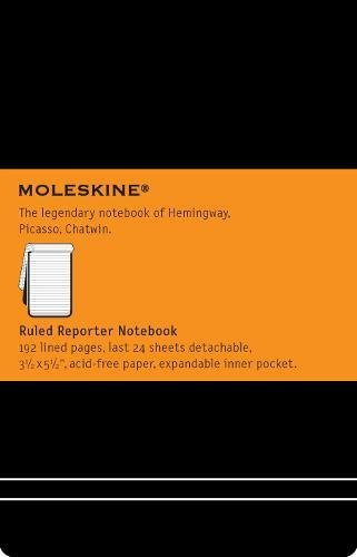 Pocket Reporter Ruled Notebook por Moleskine