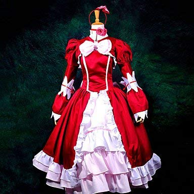 Sunkee Black Butler Cosplay Elizabeth Kleid, Größe M ( Alle Größe Sind Wie Beschreibung Gesagt, überprüfen Sie Bitte Die Größentabelle Vor Der Bestellung ) (Elizabeth Black Butler Kostüm)