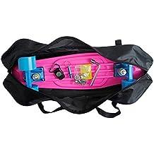 """Cooplay 22"""" Banana negra Penny Skateboard llevar bolso bolso mochila correas con ningún patín"""