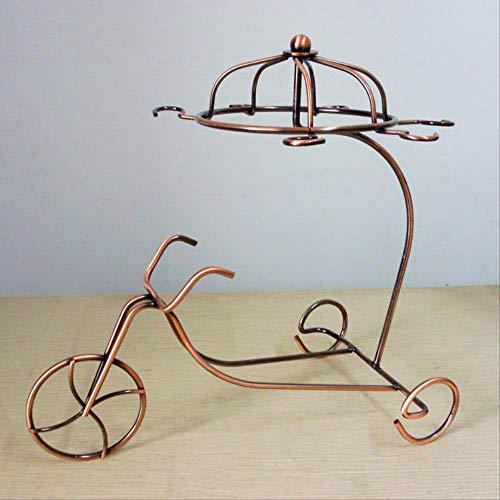 GIAO Figuren Ornamente Figuren Dekor Moderne Dekoration Dekoration Kreative Weinregal Metall Wein Becherhalter Schmiedeeisen Chariot