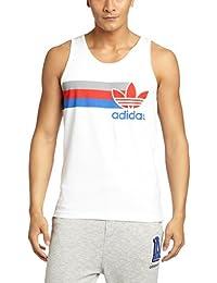 Adidas t-shirt sans manches pour homme originals avec logo