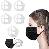 3D Breathing Relief Face Mask Support Frame Silicone 5PCS For Adults For Kids Reusable Comfortable Mouth Cover