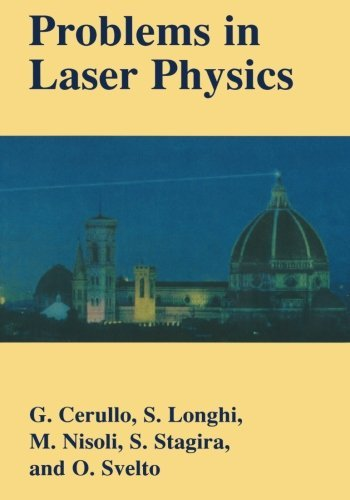 Problems in Laser Physics by Giulio Cerullo (2001-08-01)