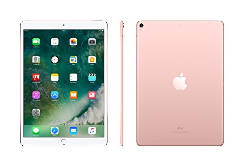APPLE 10.5 iPad Pro Cellular - 256 GB, Rose Gold (2017), Gold lowest price