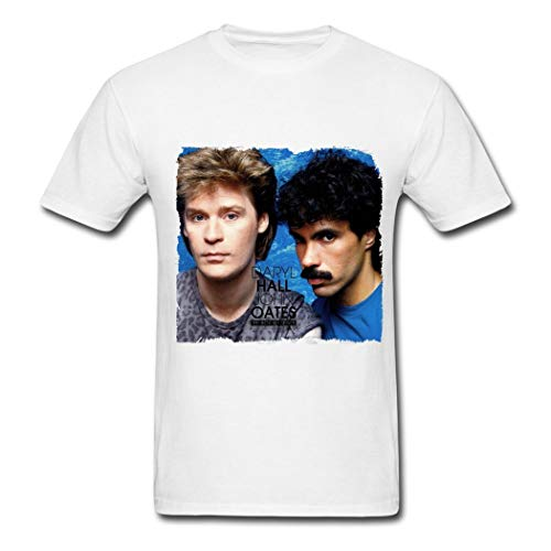 QHWHTX® Men's Popular Star Hall and Oates T Shirts