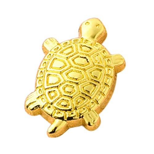 Holywonder Japanische Geldschildkröte Asakusa Tempel-kleine goldene Schildkröte-Geldschildkröte, die das Beten für Vermögen-Hauptausstattung schützt