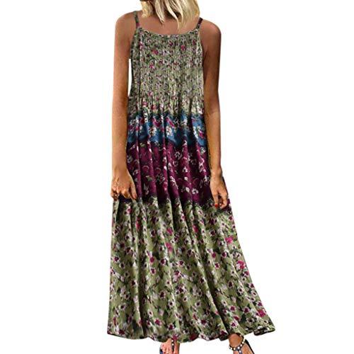 XuxMim Ballkleid Abendkleid Lang Ärmellos Perlenstickerei Applique Chiffon Abschlusskleid(Grün-1,XXXXX-Large) - Teen-wii-spiele